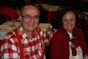 Conxita Bou amb el seu marit Carles Pelejero